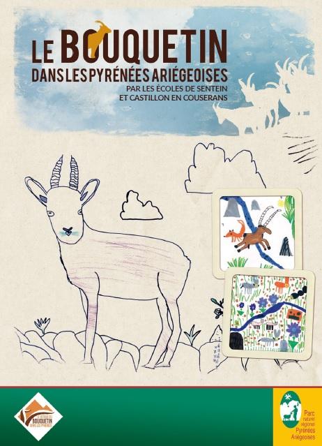 Couverture du journal bouquetin des écoles de Sentein et Castillon en Couserans