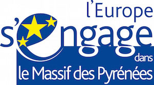 Logo l'Europe s'engage dans le Massif des Pyrénées