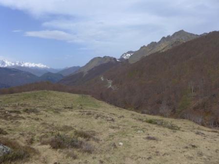 Photo du site de lâcher de Coumebière sur la commune d'Aulus-les-Bains